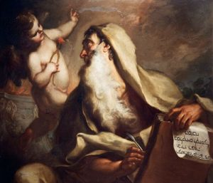 Painting of the prophet Isaiah, by Antonio Balestra
