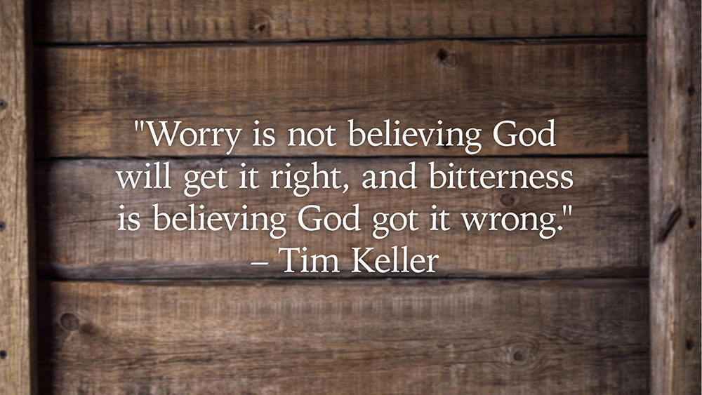 Tim Keller Quote