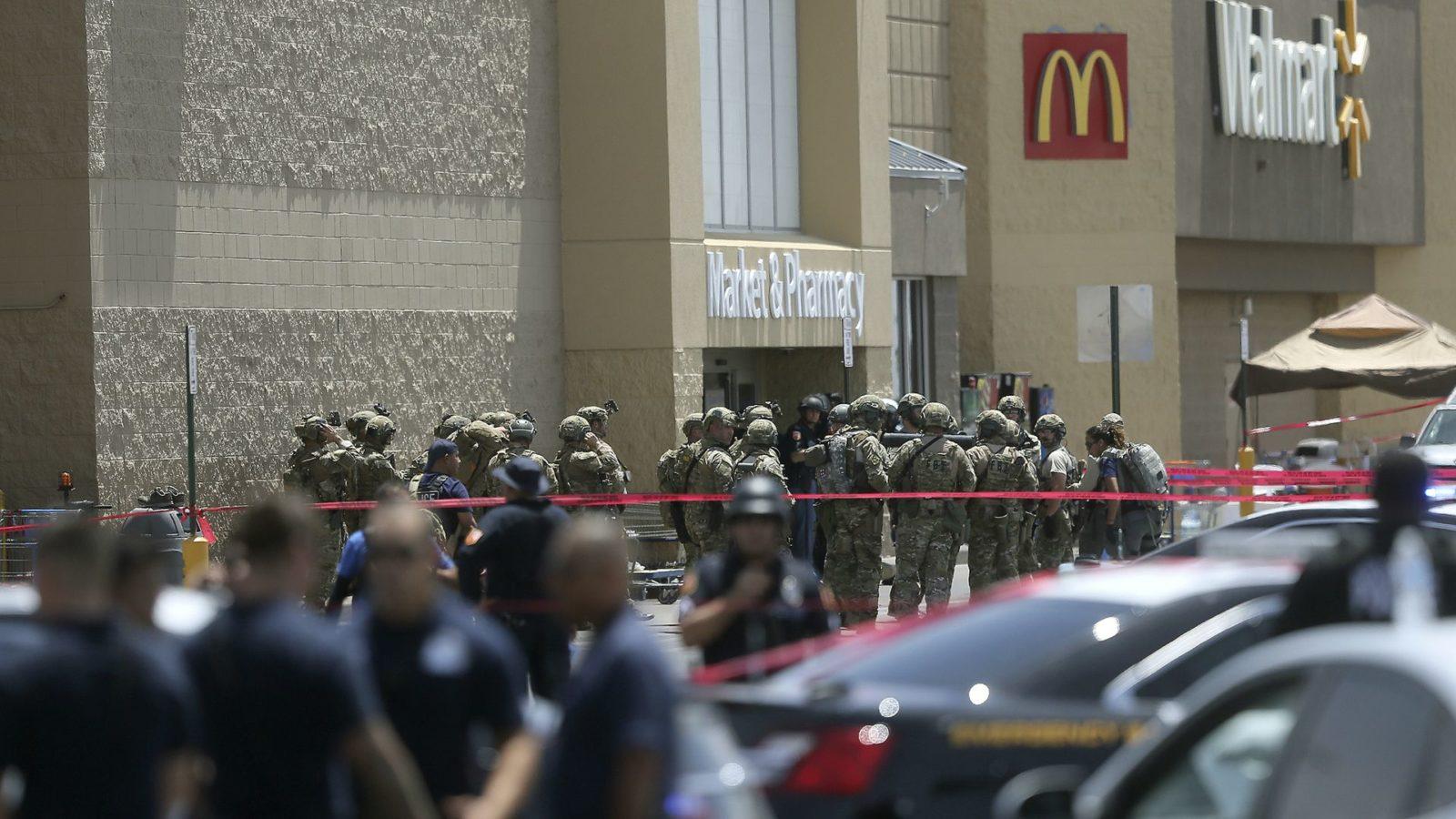 Walmart Shooting - El Paso