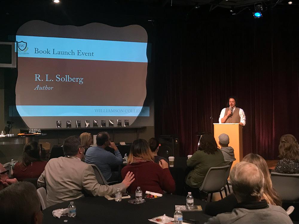R. L. Solberg Speaking